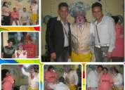 Shows de baby shower en lima, payasos para baby shower, sonido y luces especiales hora loca incluida