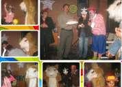 Animacion shows para cumpleaños cincuenta años fiestas evento adultos garantia