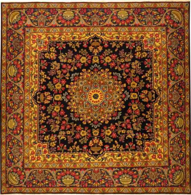Limpieza de alfombras persas elegant alfombra antes de for Alfombras persas madrid