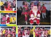 Show infantil navideño en lima santa claus visita tu empresa colegio barrio o donde quieras.