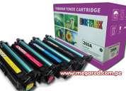 Toners compatibles hp colores ce260a (647a) – ce261/ce262a/ce263a (648a) importador directo