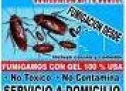 Certificado de fumigacion, fumigaciones de cucaracha, cafeteria lima