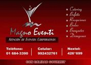 Buffets y catering