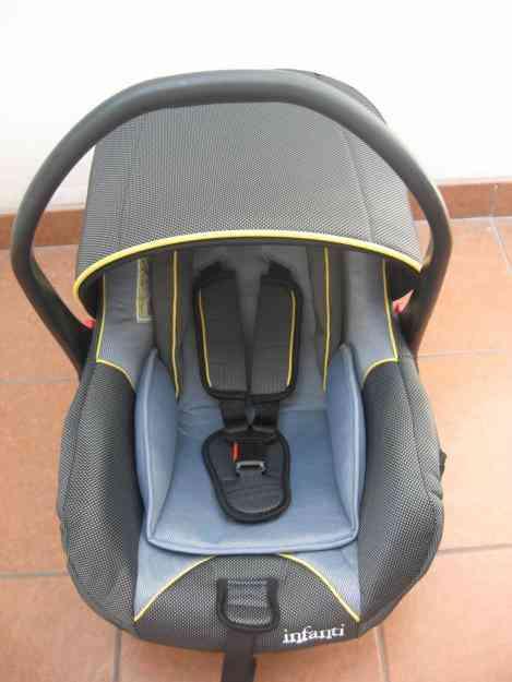 Silla para auto porta bebe y moises mecedora infanti super for Silla para auto infanti