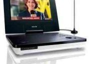 dvd portatil philisp  con tv   pd 707  lcd 7 pulgadas