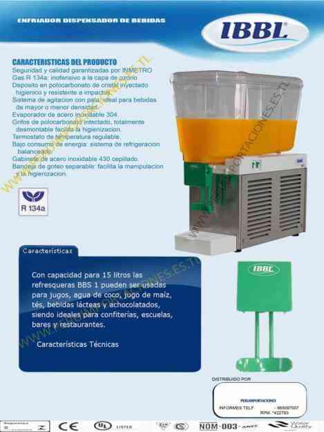 Maquina enfriadora refrigeradora de liquidos agua jugos - Maquina de agua ...