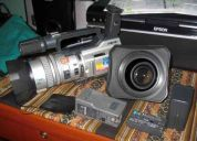 Vendo camara de video sony vx 2000 con gran angular