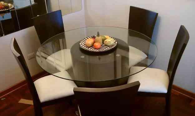 Venta de juego de comedor con 6 sillas lima hogar for Juego de comedor lima