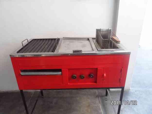 Ocasion vendo cocina sanguchera plancha grill freidora de papas y broaster bagua grande - Planchas de cocina industriales de segunda mano ...