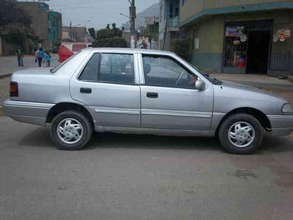 Hyundai excel de 94 gasolinero conservado S/. 0.00