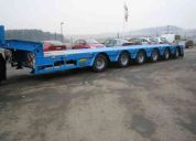 Trailers low bed,semi  trailers, equipos modulares para transportes especiales