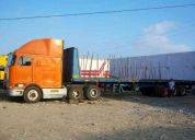 Vendo  tracto camion con carreta  marca (international)