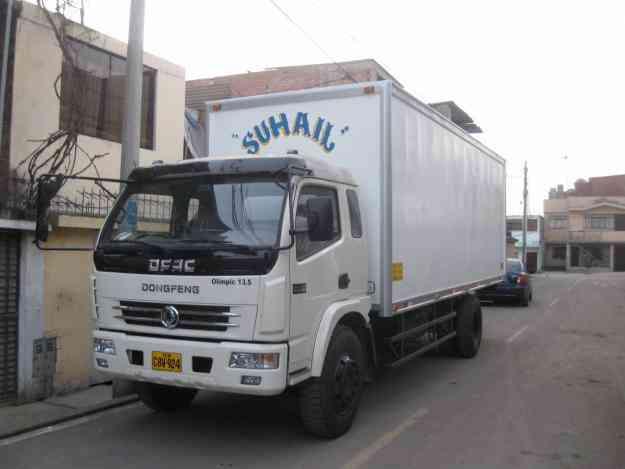Flete camion frigorifico S/. 0.00