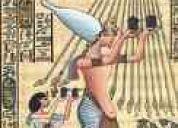 Se leen las cartas del tarot egipcio antiguo