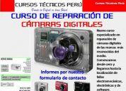 cursos de reparación de laptops, lcd, mainboards, disco duro, cámaras digitales a distanci