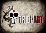 DiseÑo grÁfico publicitario - tribu art