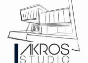 Diseño arquitectura e interiores, 3d, diseño gráfico y web, construcción y trámites