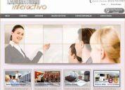 Diseño de paginas webs y hosting.