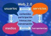 Desarrollo de paginas web 2.0(no paginas antiguas)  web administrables  trato directo