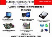 cursos de reparación de laptops, lcd, mainboards a distancia.