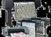 Plotters - venta de repuestos y servicios de reparacion  hp / xerox