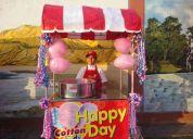 Carritos snacks popcorn algodon manzanas caritas pintadas mimo cama saltarina 824*0203