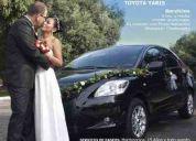 Alquilo auto para matrimonio - quinceaÑeros - eventos