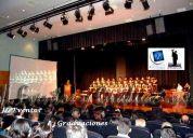 Ceremonias de graduacion bachiller, maestrias , doctorados