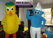 Alquiler de muÑecos para fiestas infantiles y eventos publicitarios
