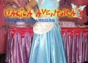 Fiestas infantiles show de princesas con 10% de dcto. con magica aventura