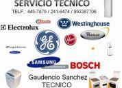 Servicio tecnico lavadoras, cocinas, refrigeradoras