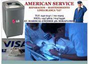 () * lavadoras lg tromm * servicio tecnico mantenimiento. tel. 721.0305,,, 615*9536.