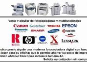 Venta, mantenimiento y reparacion de fotocopiadoras y multifuncionales * todas las marcas