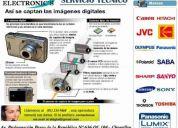 Reparacion de camaras y filmadoras digitales 234-9468