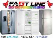 Somos servicio tecnico general electric refrigeradores a domicilio fast line service