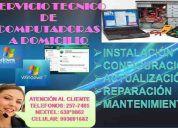 A1.. servicio  tecnico de computadoras  257-7485/ 630*9862 calidad
