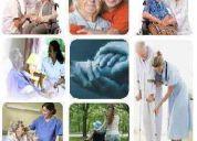 Atencion y cuidado del adulto mayor  a domicilio