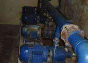 Servicio tecnico  de mantenimiento y reparaciones de bombas de agua
