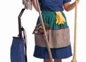 Se ofrese servicio de limpiesa por horas