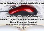 Traducciones lima peru , empresa de traducciones lima peru , traducciones , idiomas peru