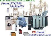 Reparaciones  e instalaciones elÉctricas, pozo a tierra, alarmas