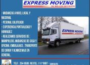 Mudanzas express moving s.a.c  2549595 / 111*9887