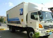 F.v. transportes y servicios s.a.c. servicio de transporte de carga liviana y pesada