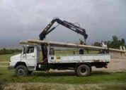 Servicio de carga , transporte y maniobras especiales de carga