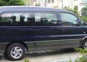 Servicio de transporte turistico alquiler de vans