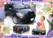 autos para novias, quinceaños y eventos