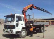 alquiler de camión-grúa palfinger pk 22000-eh/volvo en arequipa