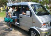 Alquilo movilidad con chofer profesional - 10 pasajeros