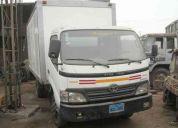 camion furgon en alquiler