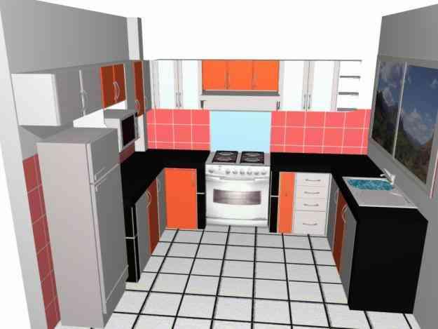 Pin closets y reposteros de cocina en melamina modelos for Modelos de closets